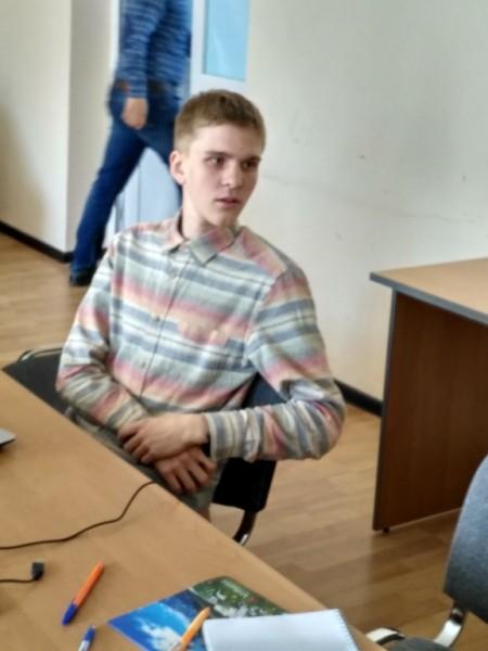 Шмаков Андрей, студент группы КОД-15 1